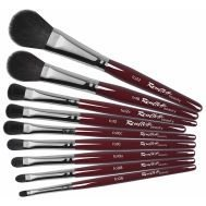 Collection fo - Oval brushes for eyeshadows & blushes