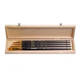 Set №3 - Stiff synthetic brushes