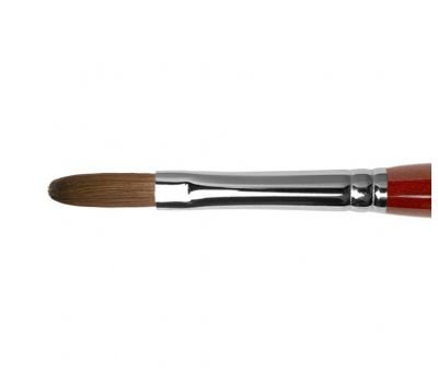 AK33R - Oval acrylic brush
