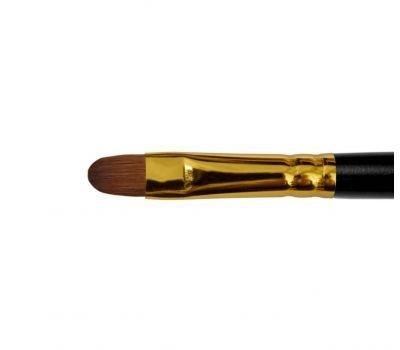1137 - Oval kolinsky brush