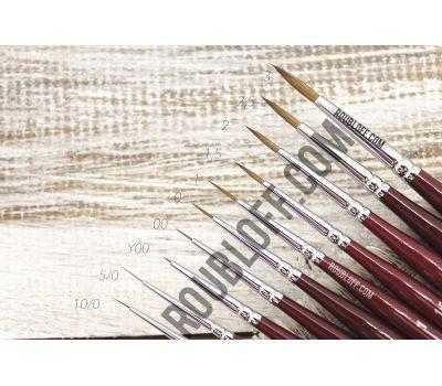 DK13R - Round kolinsky brush