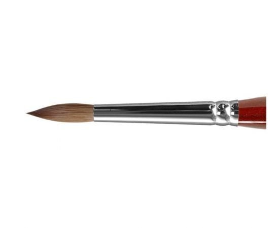 AK13R - Round kolinsky brush for acrylic