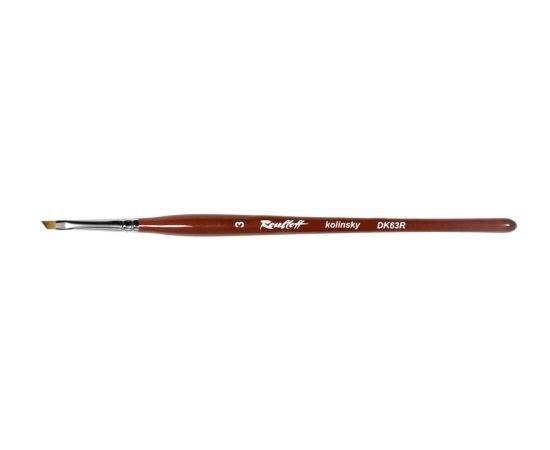 DK63R - Angular kolinsky brush