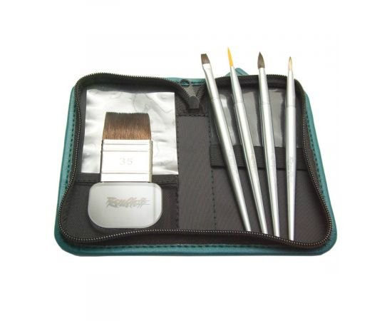 Set №32 -  Compact travel set for watercolor