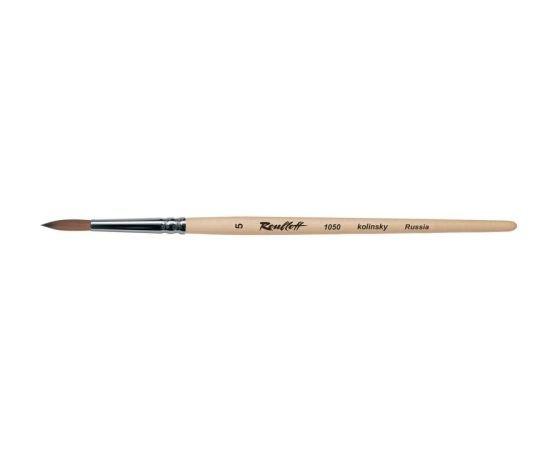 1050 - Round brush from kolinsky
