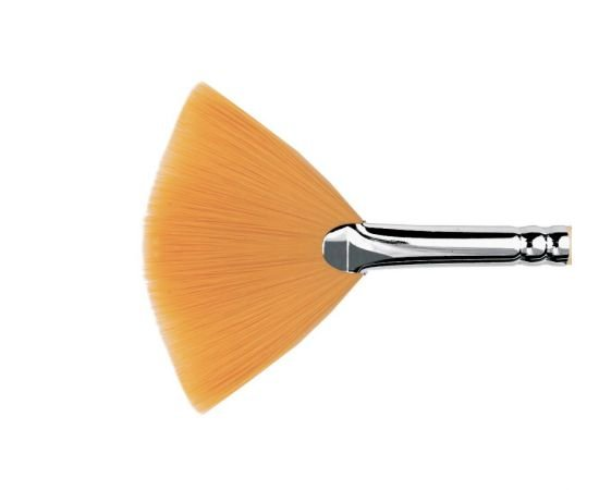 1272 - ​Fan brush from soft synthetic