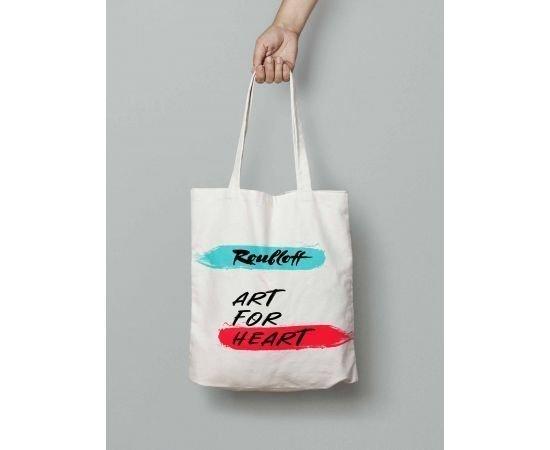 """Shopper bag """"Art for heart"""""""
