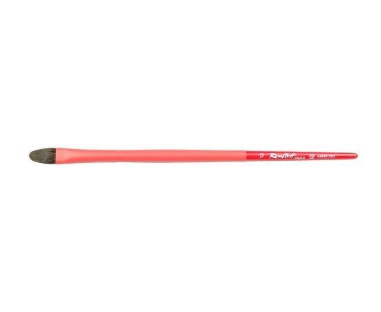 Aqua Red - Кисть овальная №12 соболь-микс